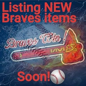 Braves Items Coming!🆕️🤗⚾️👕🧢